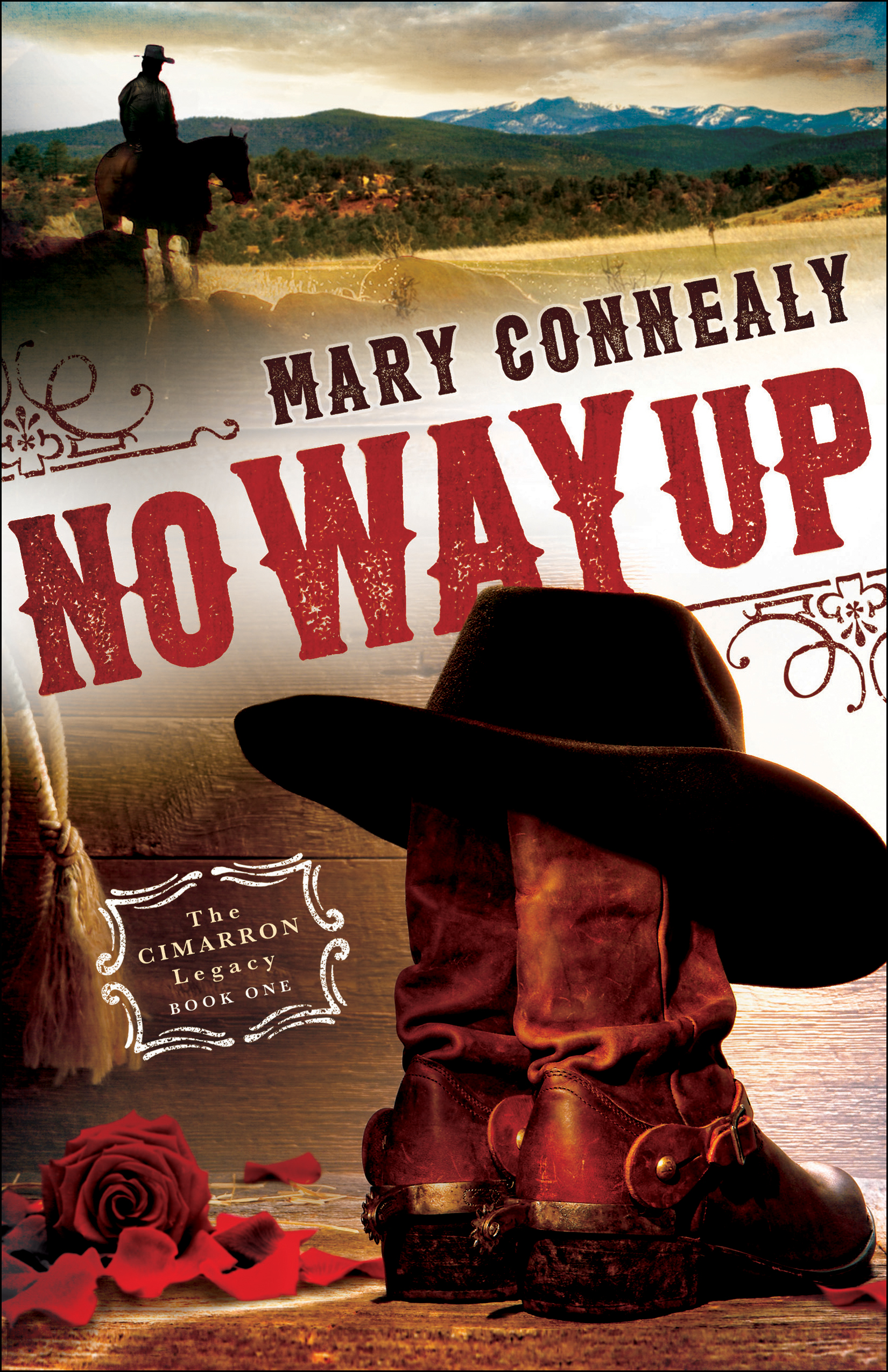 Book review of No Way Up by Mary Connealy (Bethany House) by papertapepins