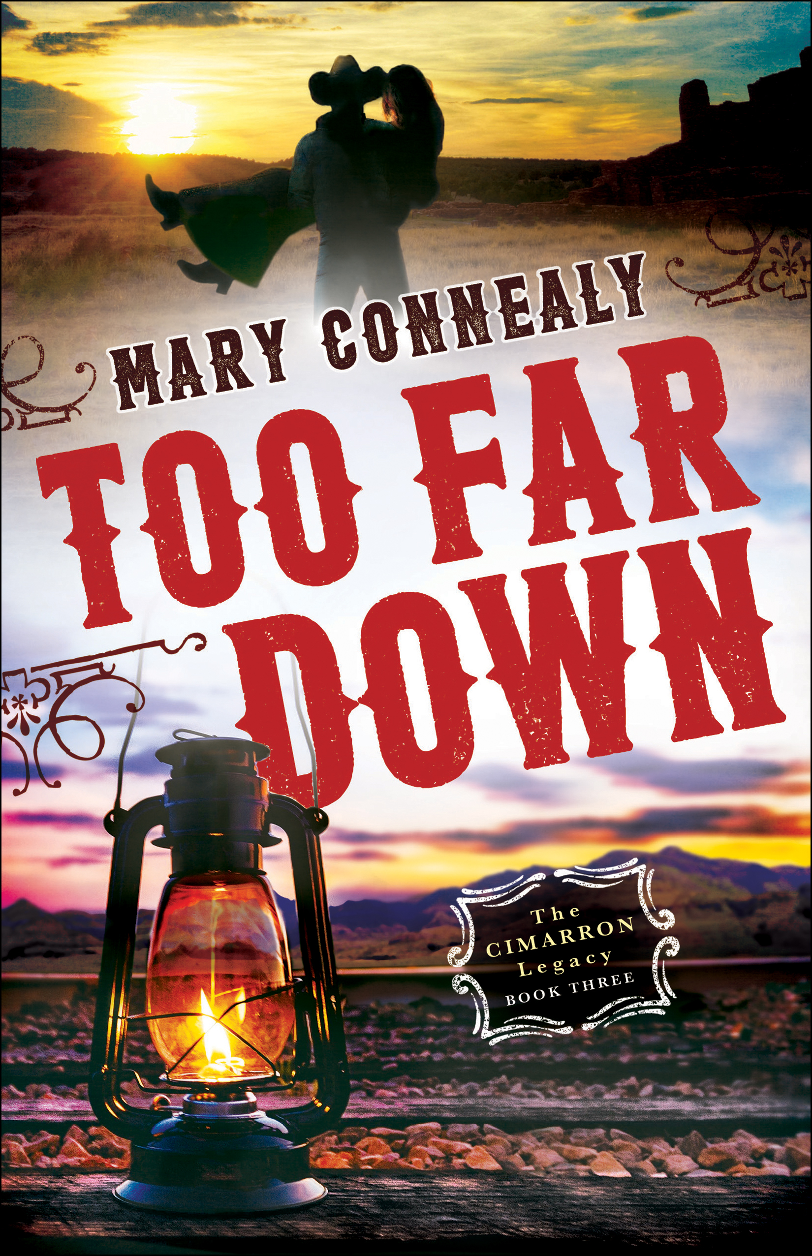Book review of Too Far Down by Mary Connealy (Bethany House) by papertapepins