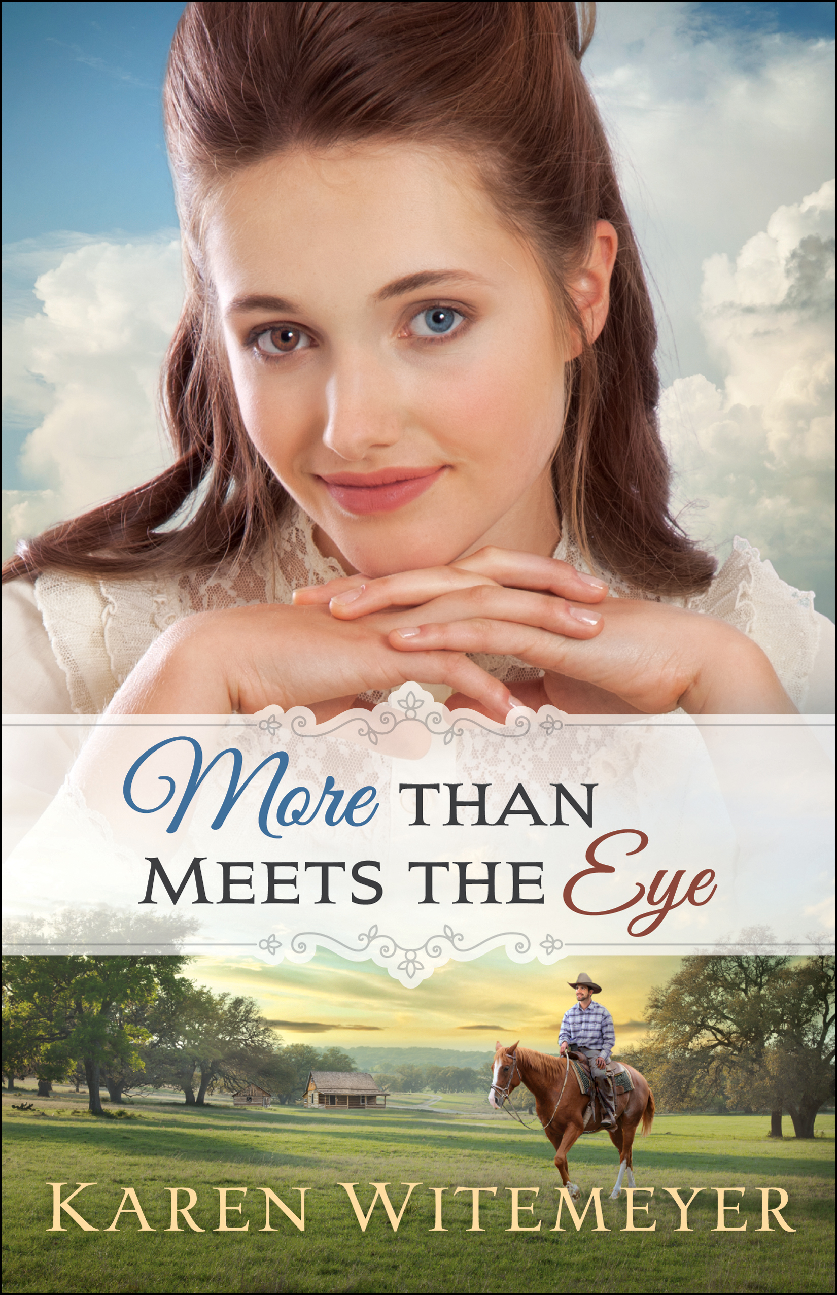 Book review of More Than Meets The Eye by Karen Witemeyer (Bethany House) by papertapepins