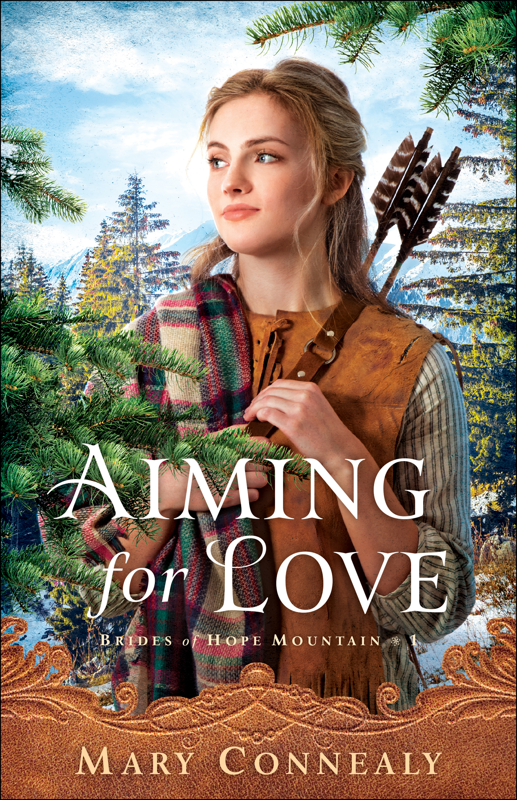 Book review of Aiming For Love by Mary Connealy (Bethany House) by papertapepins
