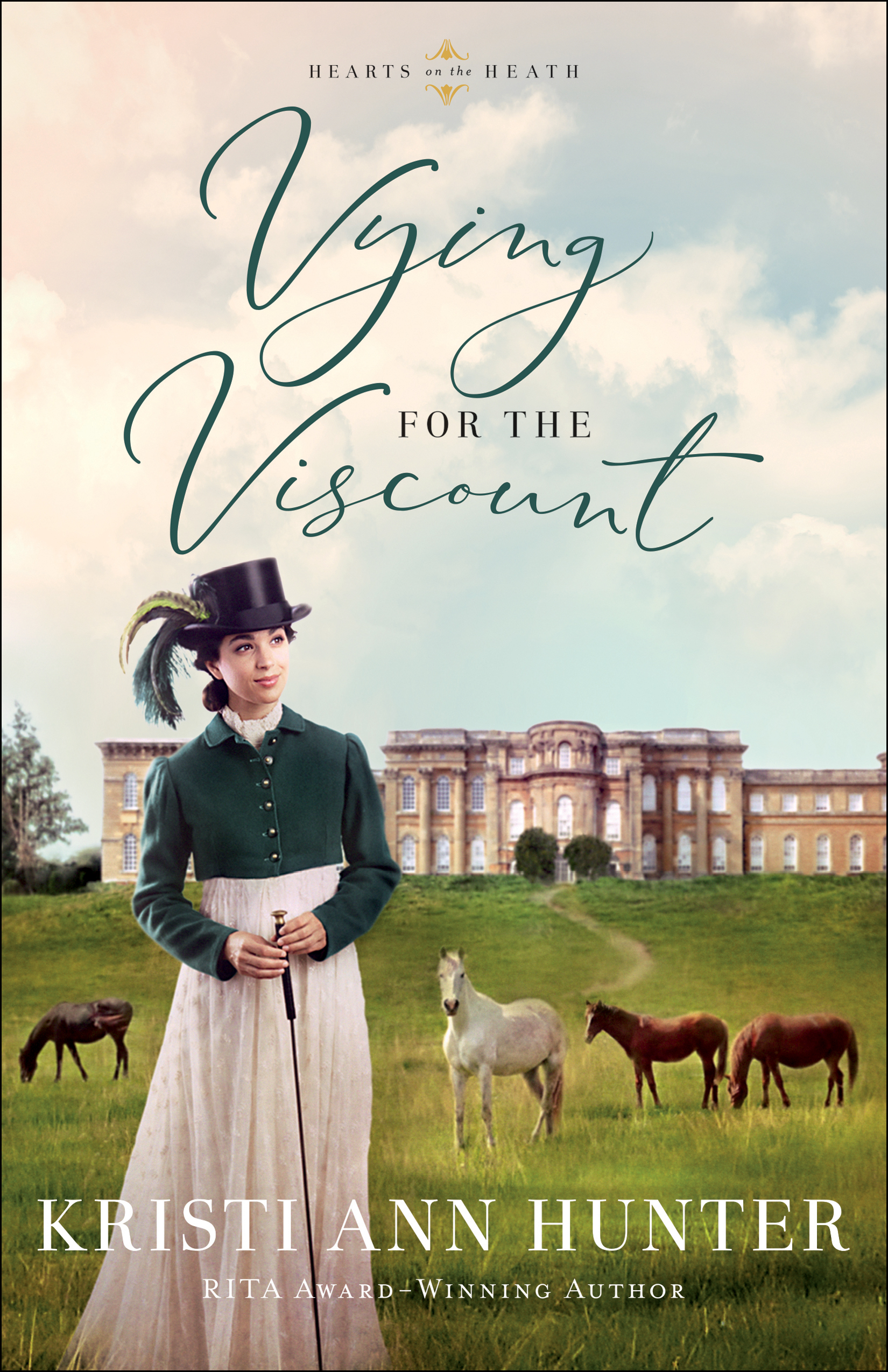 Book review of Vying For The Viscount by Kristi Ann Hunter (Bethany House) by papertapepins