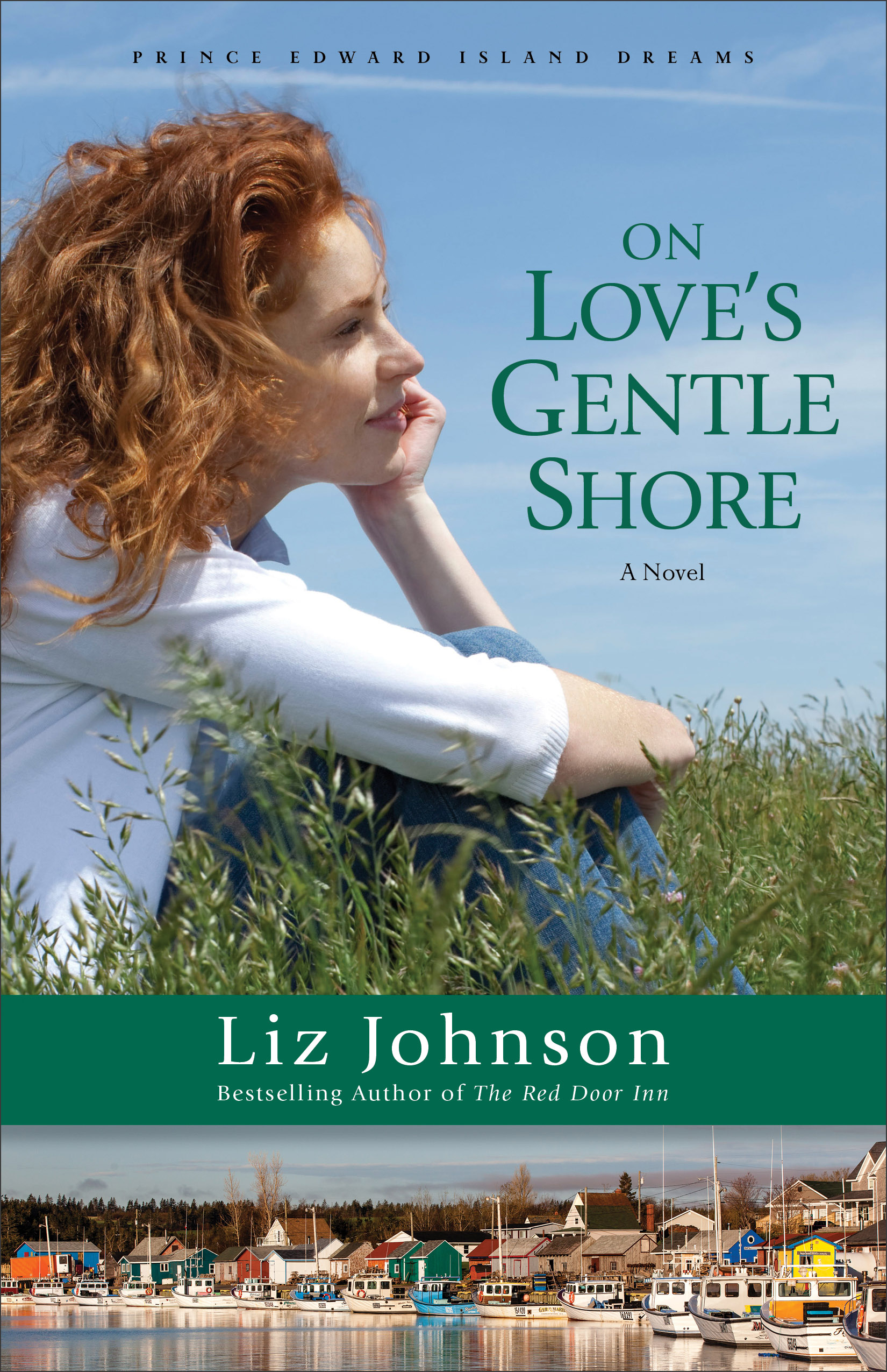 Book review of On Love's Gentle Shore by Liz Johnson (Revell) by papertapepins