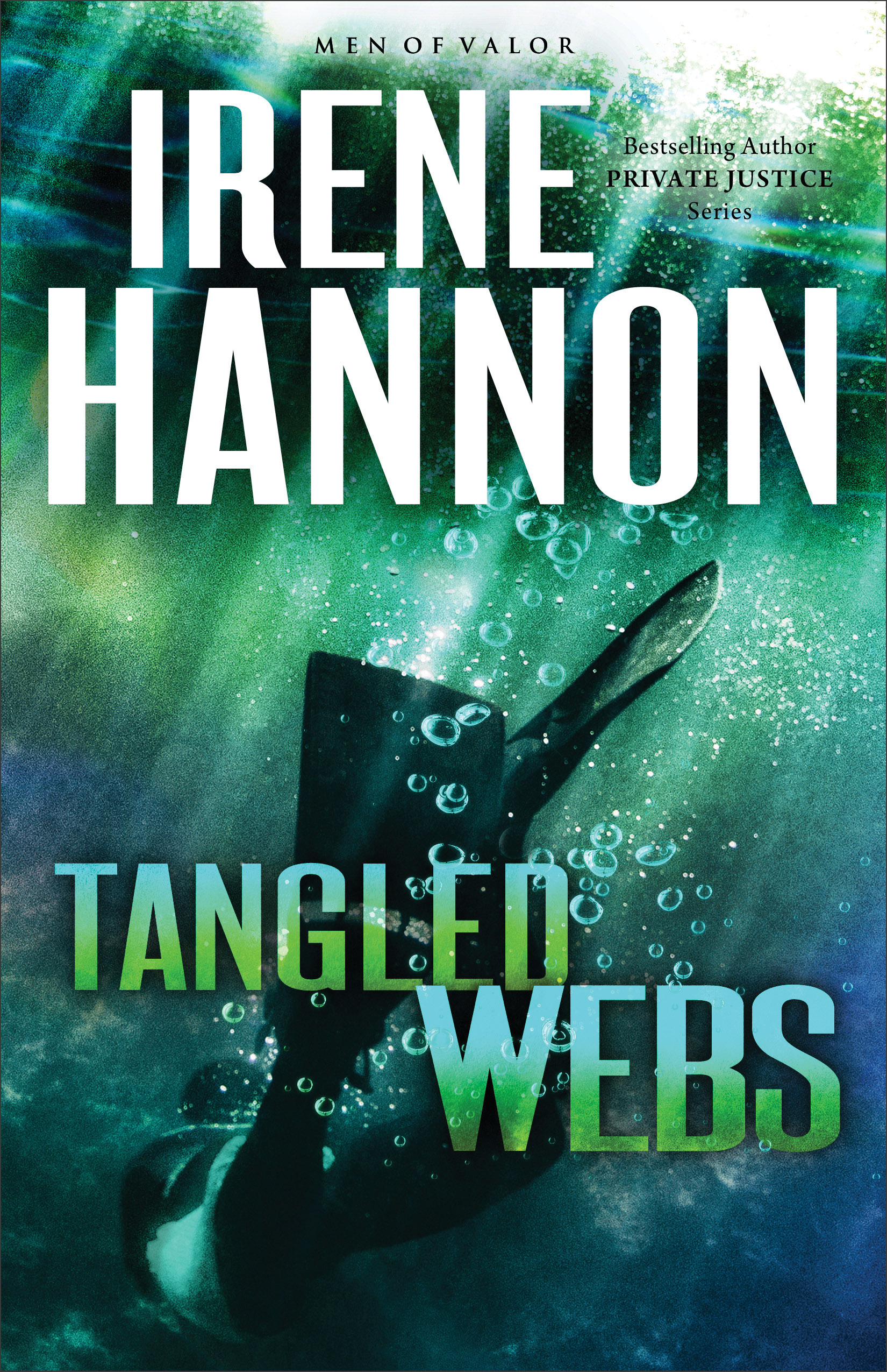 Book review of Tangled Webs by Irene Hannon (Revell) by papertapepins