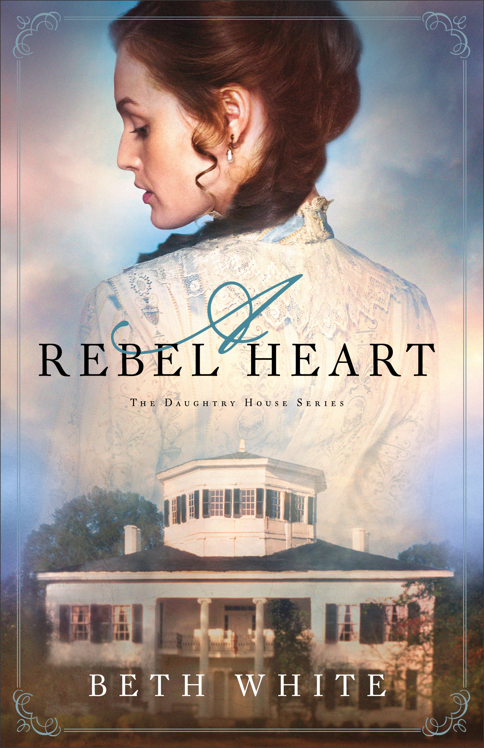 Book review of A Rebel Heart by Beth White (Revel) by papertapepins