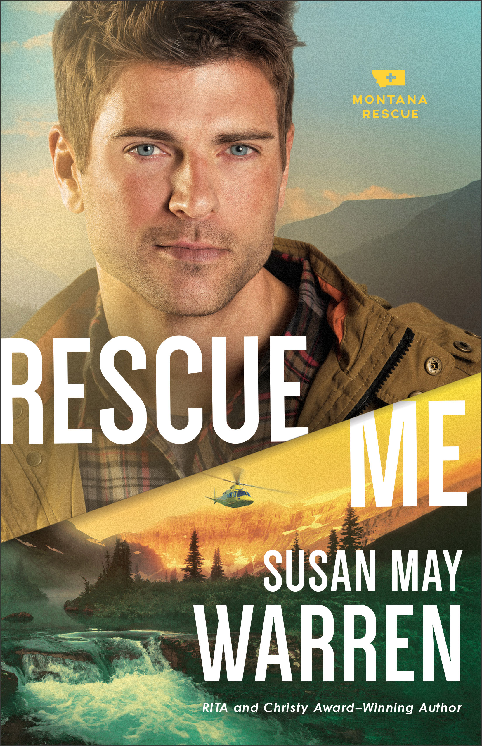 Book review of Rescue Me by Susan May Warren (Revell) by papertapepins