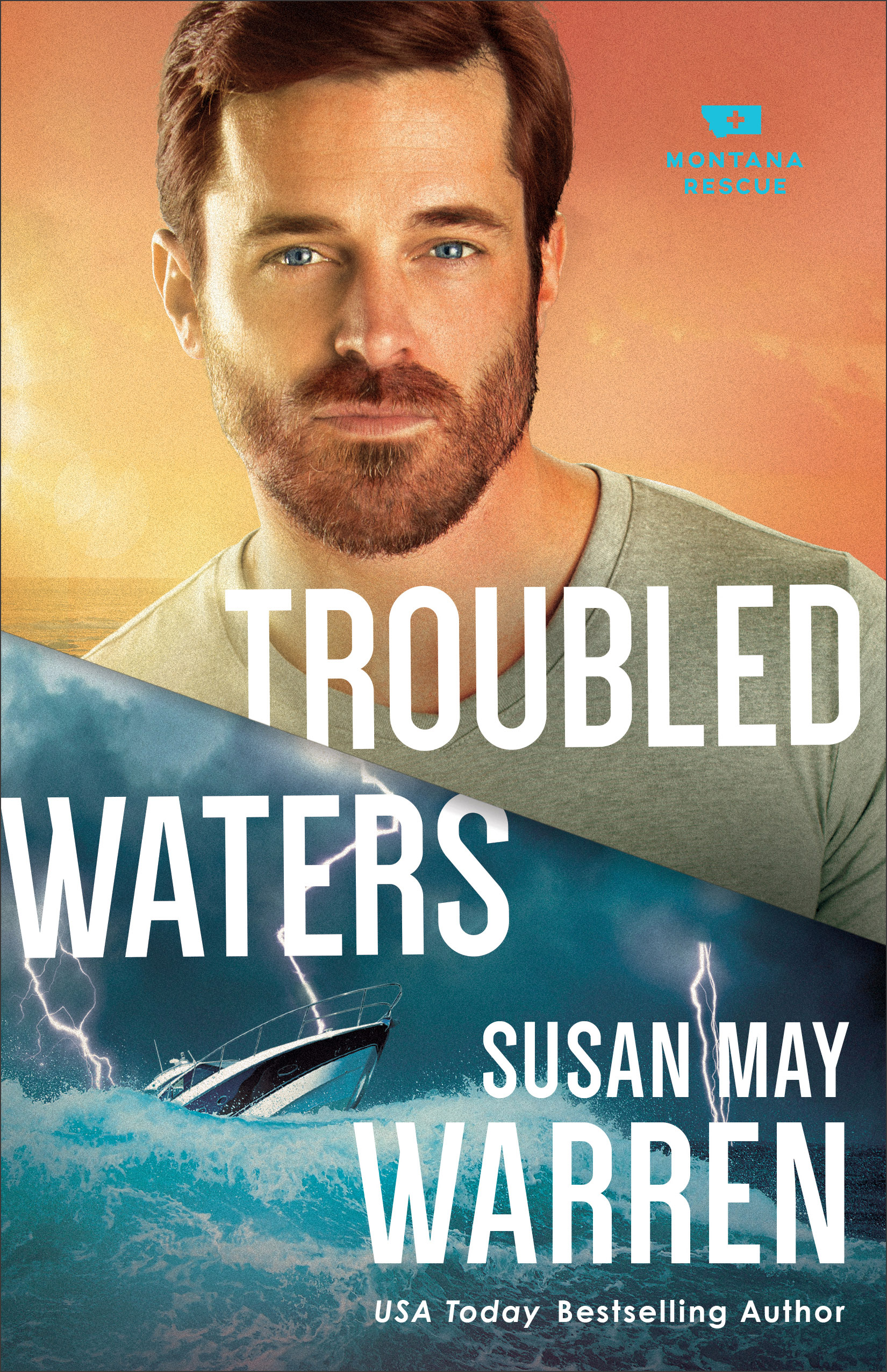 Book review of Troubled Waters by Susan May Warren (Revell) by papertapepins
