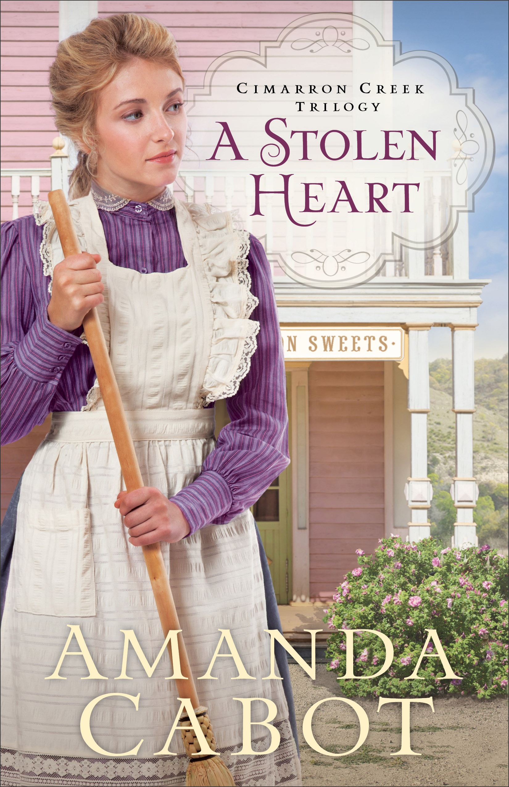Book review of A Stolen Heart by Amanda Cabot (Revell) by papertapepins