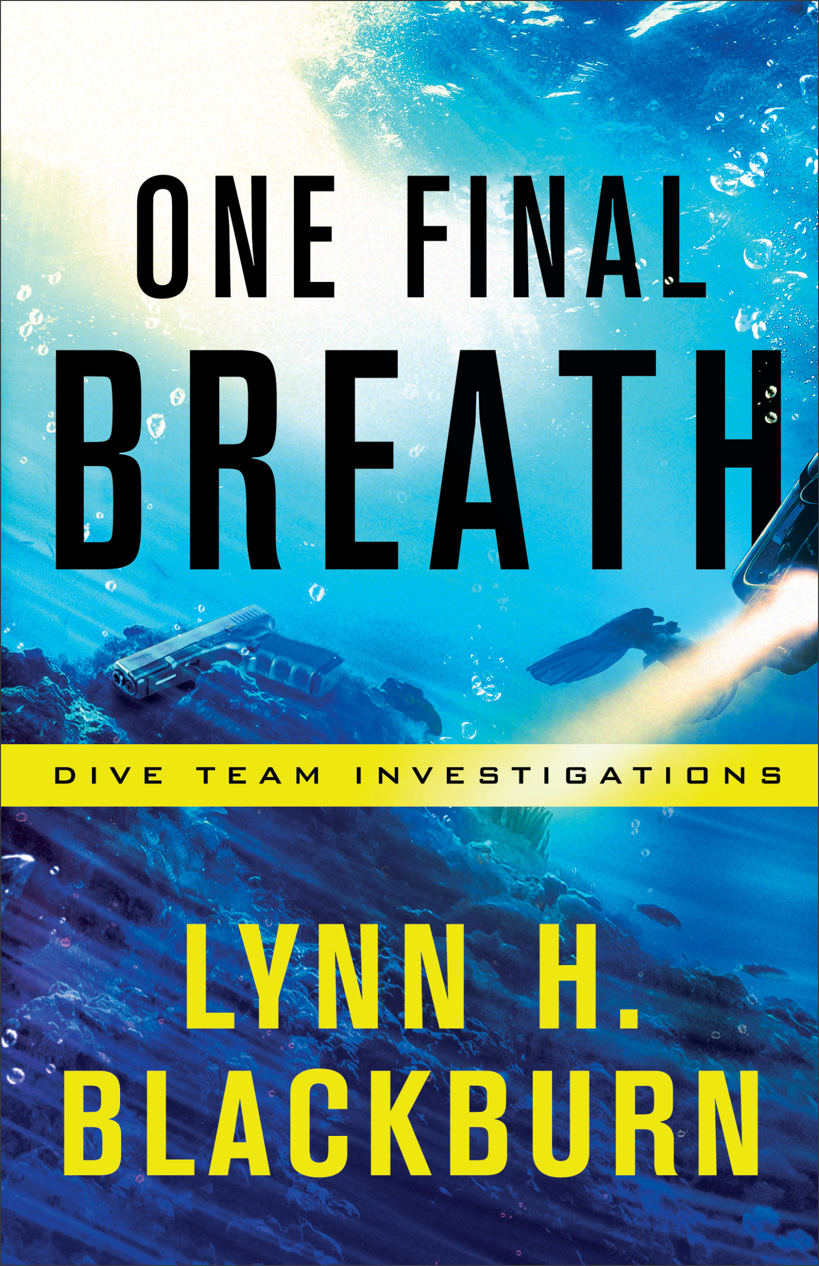 Book review of One Final Breath by Lynn Blackburn (Revell) by papertapepins