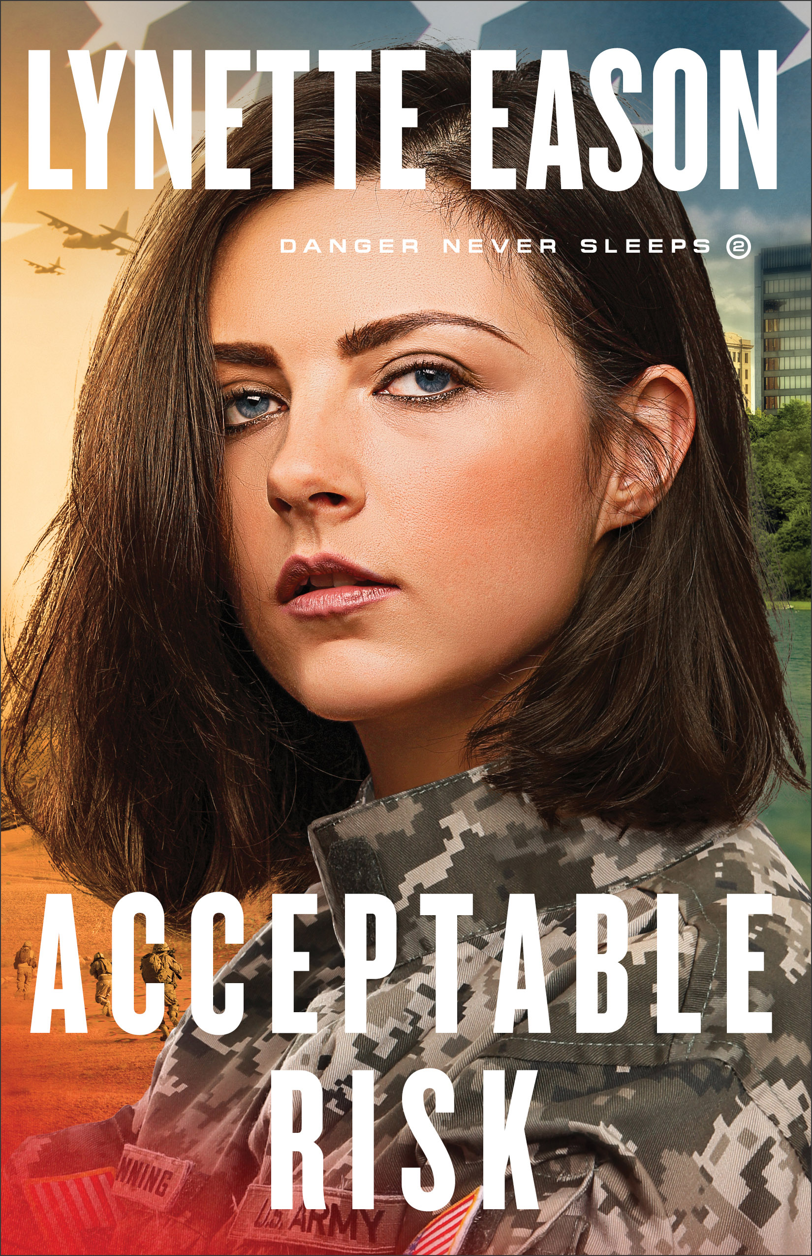 Book review of Acceptable Risk by Lynette Eason (Revell) by papertapepins
