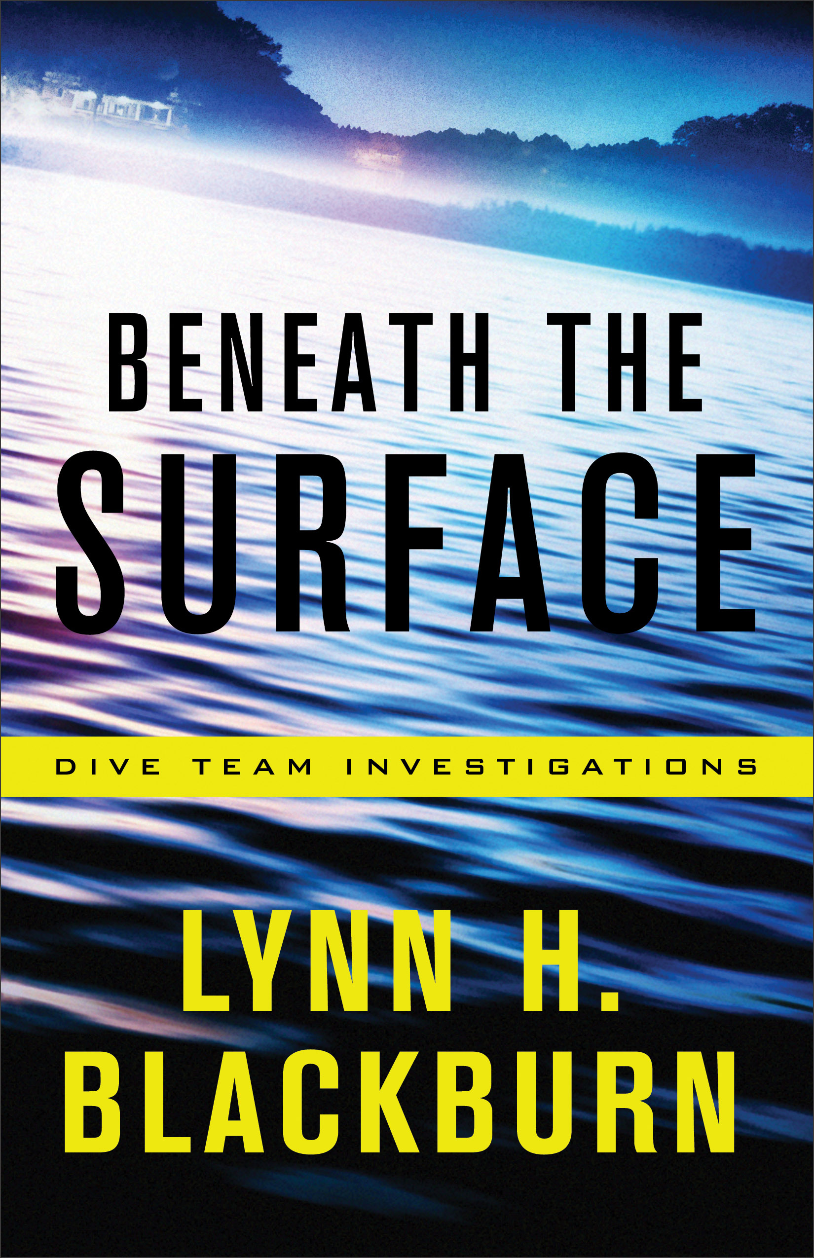 Book review of Beneath The Surface by Lynn H Blackburn (Revell) by papertapepins