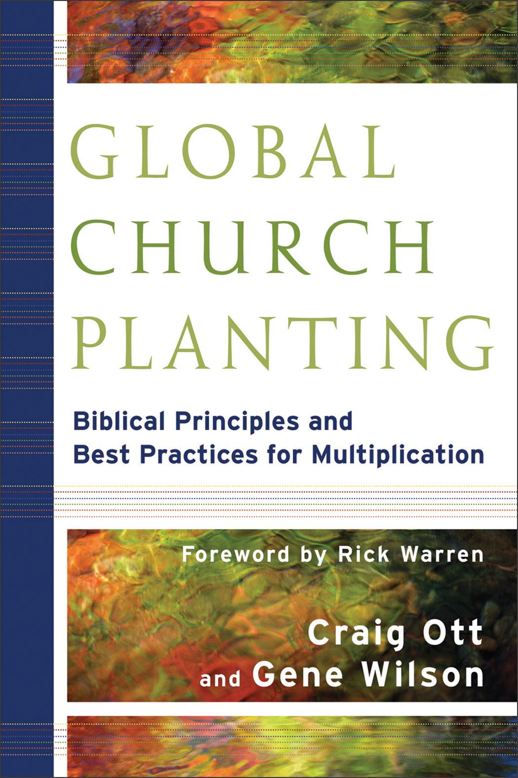 Global Church Planting   Baker Publishing Group