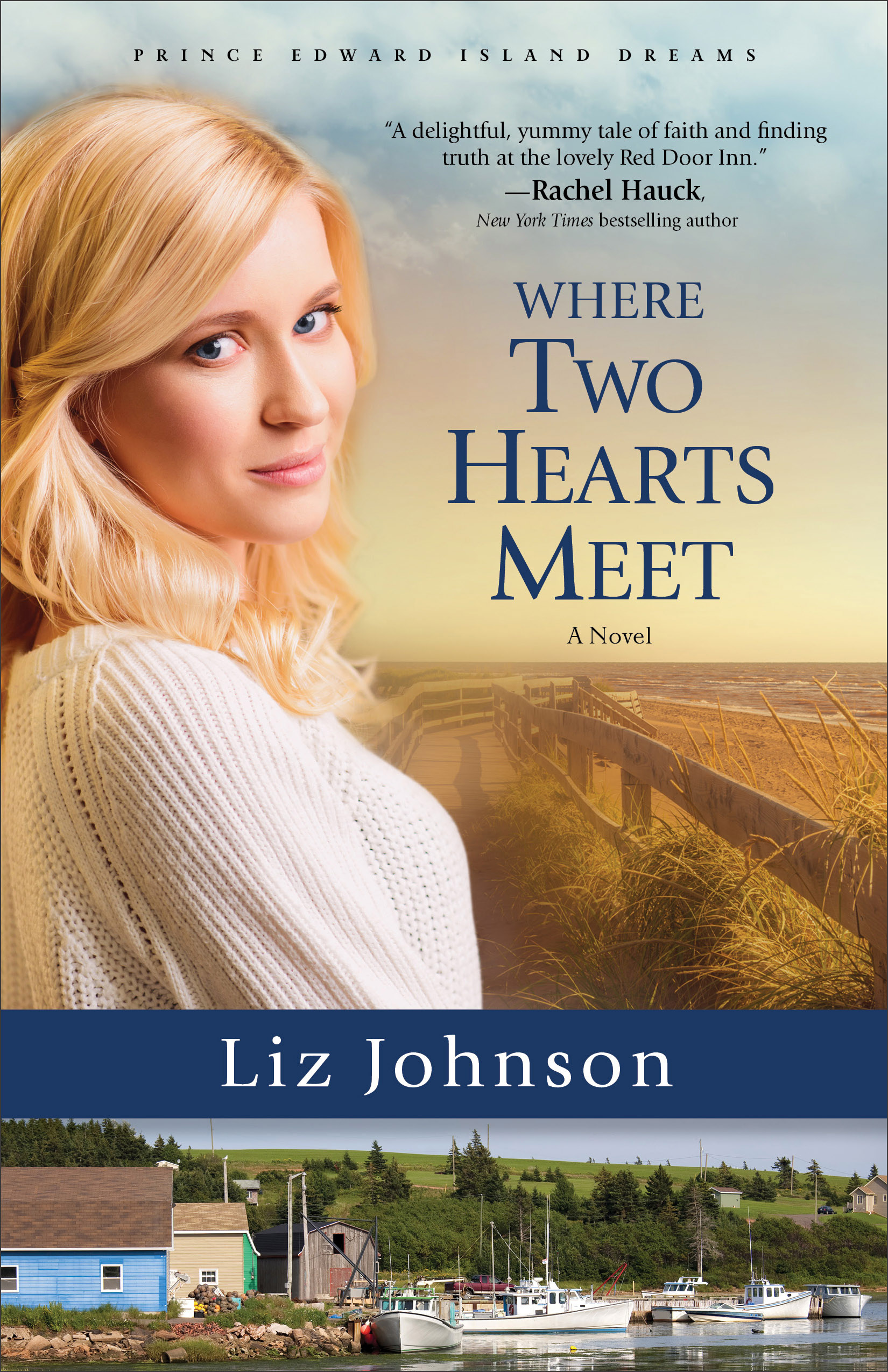 Book review of Where Two Hearts Meet by Liz Johnson (Revell) by @papertapepins
