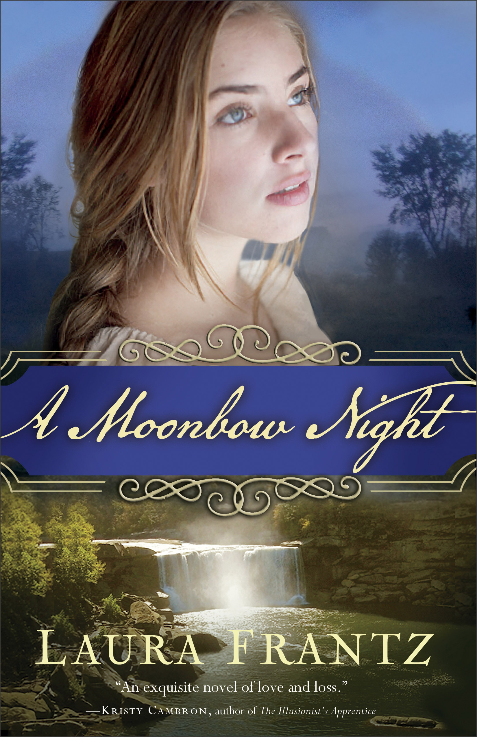 Book review of A Moonbow Night by Laura Frantz (Revell) by papertapepins
