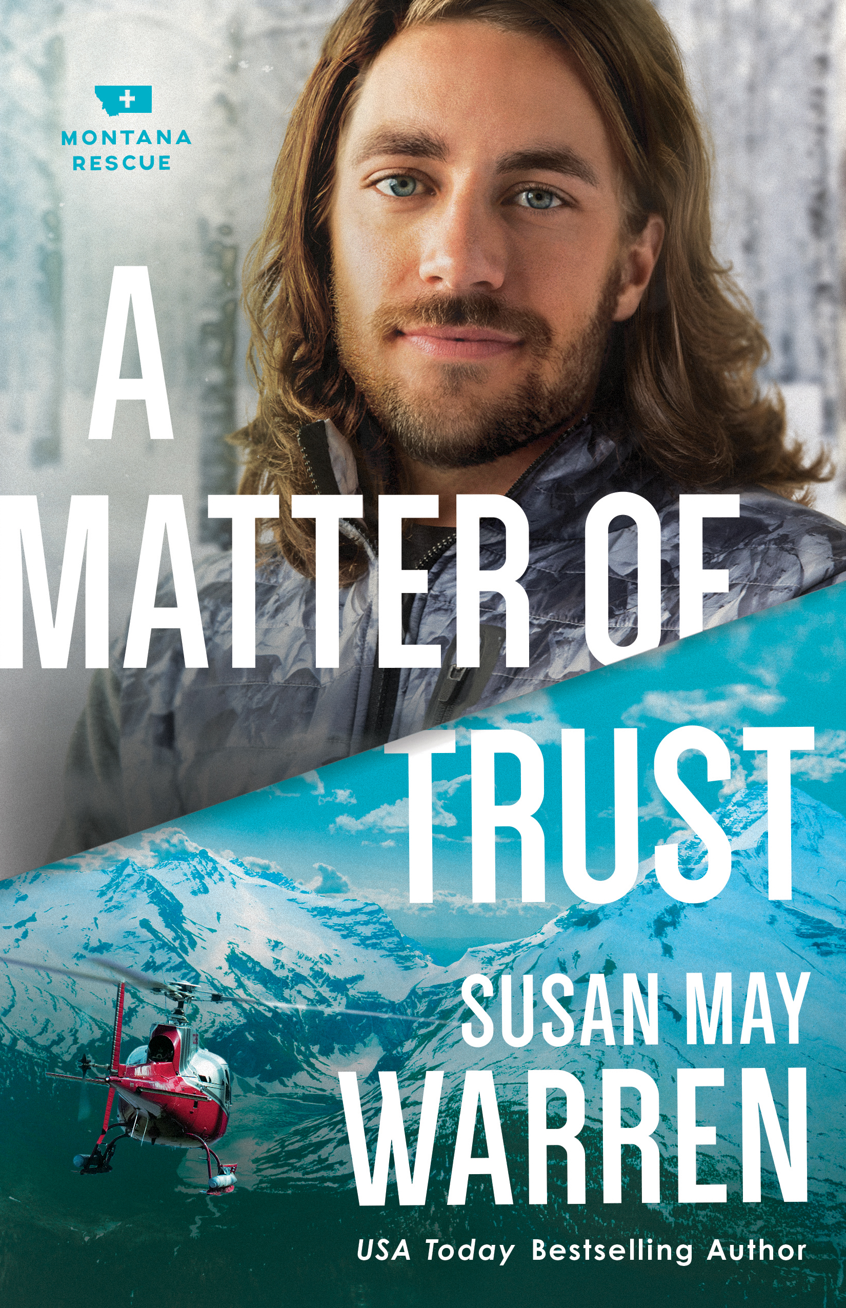 Book review of A Matter Of Trust by Susan May Warren (Revell) by papertapepins
