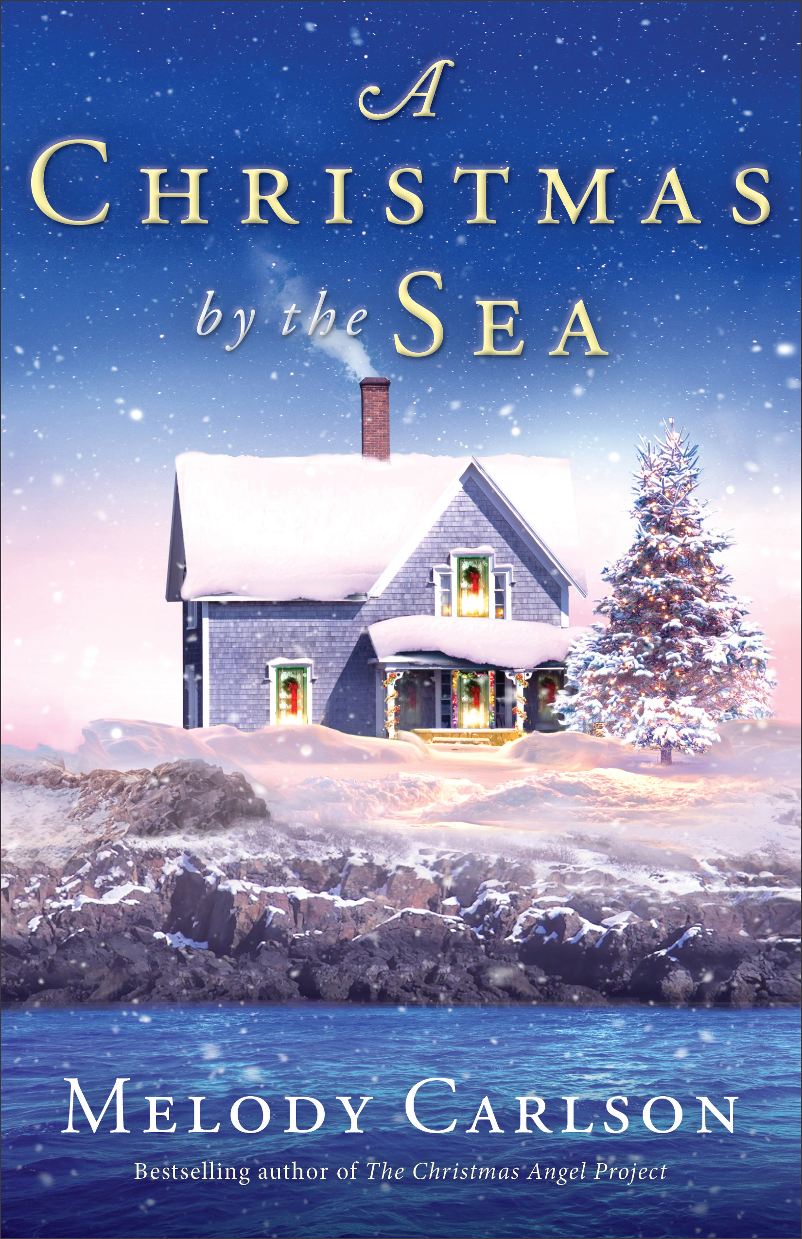 Book review of A Christmas By The Sea by Melody Carlson (Revell) by papertapepins
