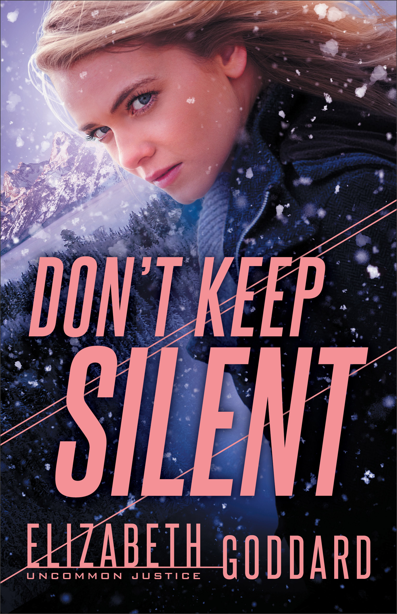 Book review of Don't Keep Silent by Elizabeth Goddard (Revell) by papertapepins