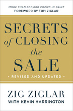 Secrets of Closing the Sale, Revised, Updated, and ITPE
