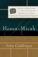 Baker Commentary on the Old Testament: Prophetic Books