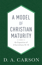 A Model of Christian Maturity, Repackaged Edition
