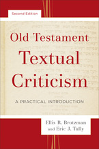 Old Testament Textual Criticism, 2nd Edition