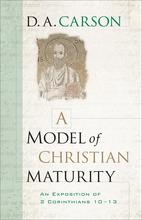 A Model of Christian Maturity
