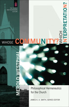 Whose Community? Which Interpretation?