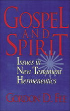 Gospel and Spirit