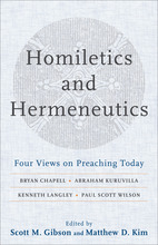 Homiletics and Hermeneutics