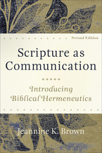 Scripture as Communication, 2nd Edition