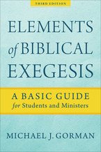 Elements of Biblical Exegesis, 3rd Edition