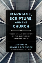 Marriage, Scripture, and the Church