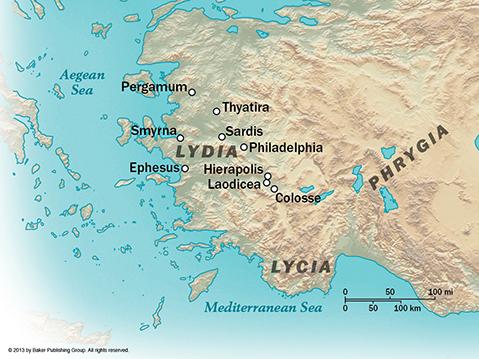 Colossians Map